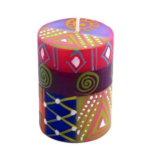 Bunte Kerzen Nobunto Kapula Südafrika Fair Trade Multicolored Shahida