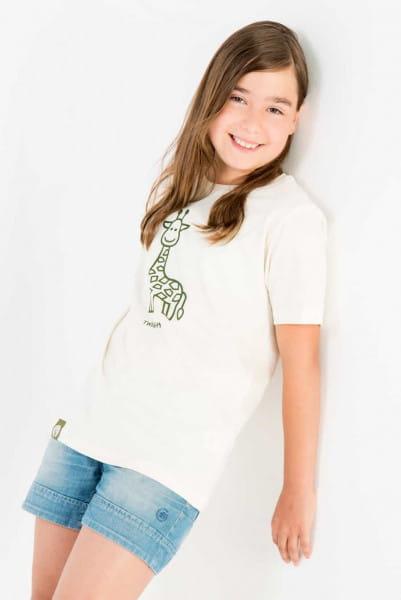 Twiga - Unisex - Natur - Organic Shirt