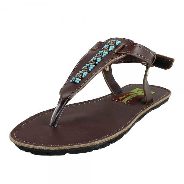 Sandalen mit Perlen Massai Afrika Kenia Damen Ecosandals