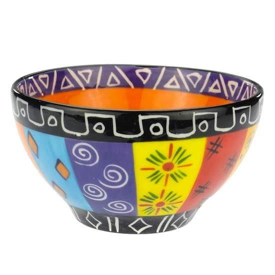 Kapula Keramik - Schale 12cm - Multicoloured
