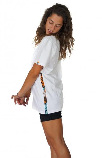 Bio Kitenge T-shirt für Frauen Ethno Afrika Mode Fairtrade