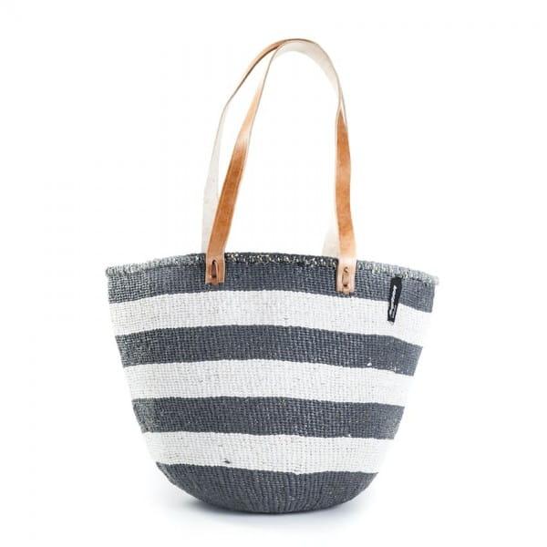 Kiondo Tasche M - Stripes - Grau