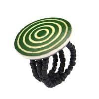 Karma Ringe - Circles - Grün