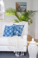 Afrikanische Kissenhüllen - Marina 50x50 - Blau