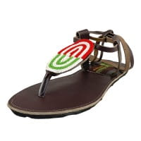 Afrikanische Sandalen - Mara - Braun