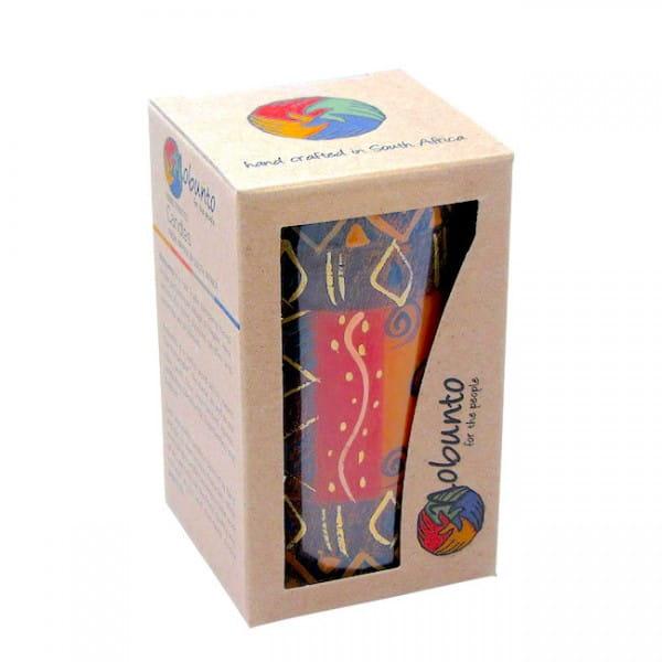 Geschenkbox - BONGAZI - 1 x Kerze - 7x11,5cm