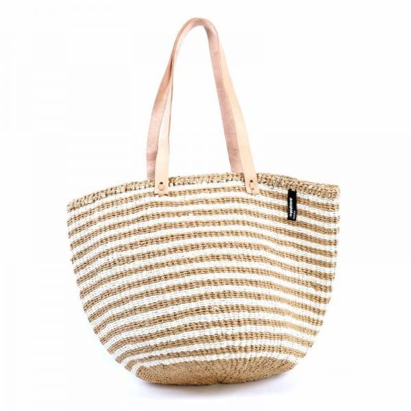 Kiondo Tasche M - Thin Stripes - Braun