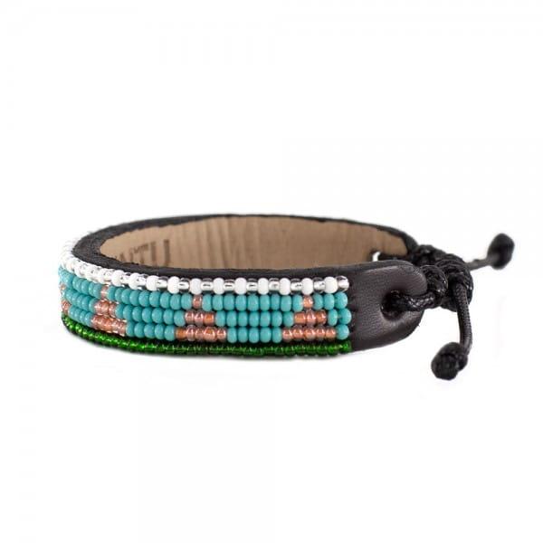 Massai Armband - Kerio Leder - Unisex