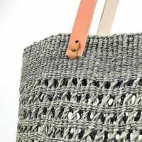 Kiondo Tasche M - Open Weave - Grau