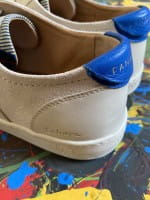 African Fair Trade Sneaker - Sahara Creme H