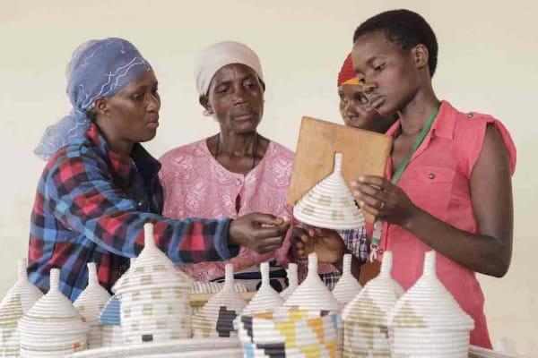 Afrikanische Körbe Fair Trade Tansania Burundi Ruanda
