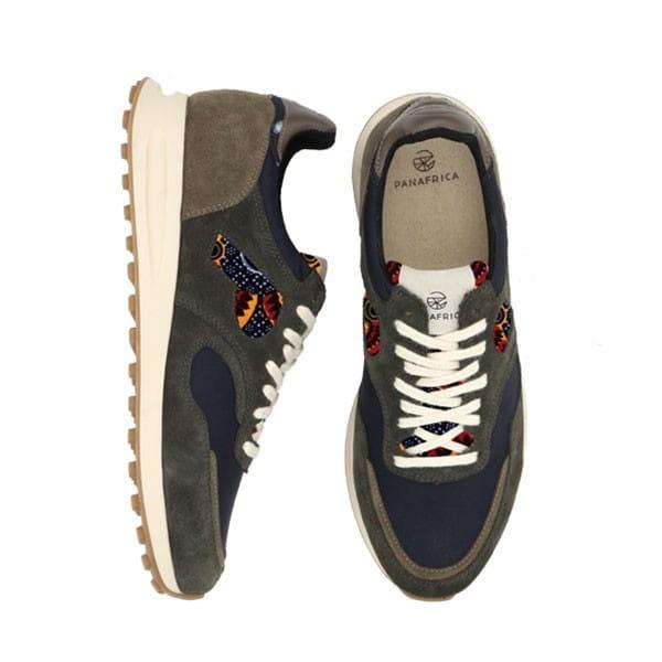 African Fair Trade Sneaker - Arusha Ocean