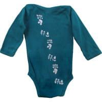 Bio Baby Strampler - Affe - Langarm