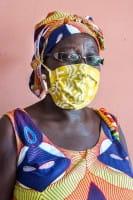 Mund Nase Masken - Bio Baumwolle - Adult