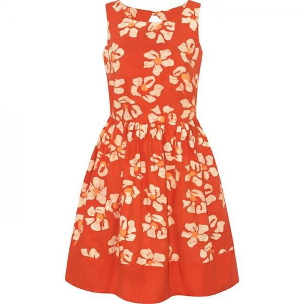 Party Dress - Tropics Tangerine - Orange