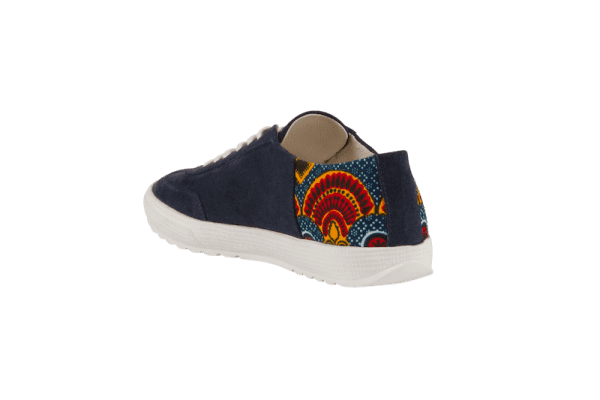 African Fair Trade Sneaker - Harmattan Ocean