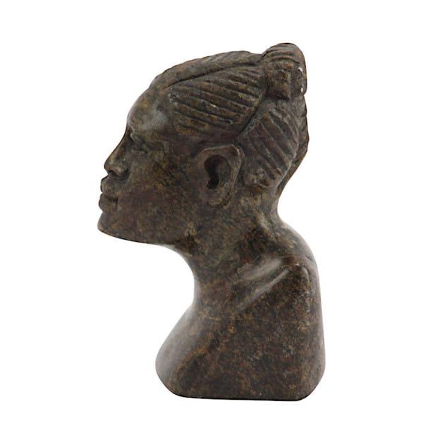 Afrikanische Büste - Frau