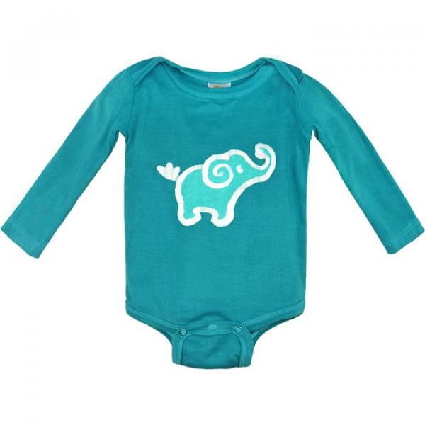 Bio Baby Strampler - Elefant - Langarm