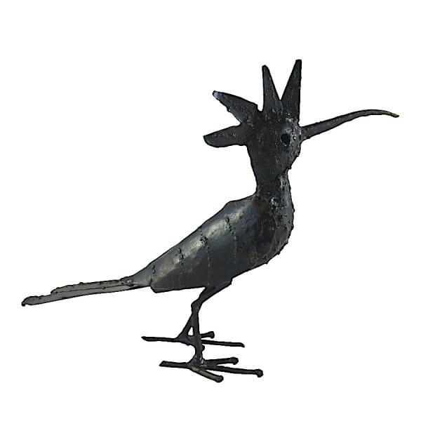 Metall Vogel - Deko Garten - Wiedehopf