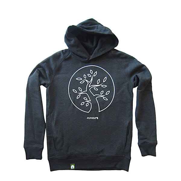 Maisha Tree - Unisex - Grau - Organic Hoodie