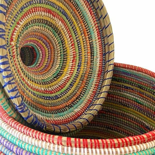 Wäschekorb Senegal XXL - Stripes - Bunt