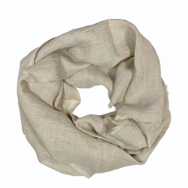 Telba - Schal aus Leinen - Unisex - Stone