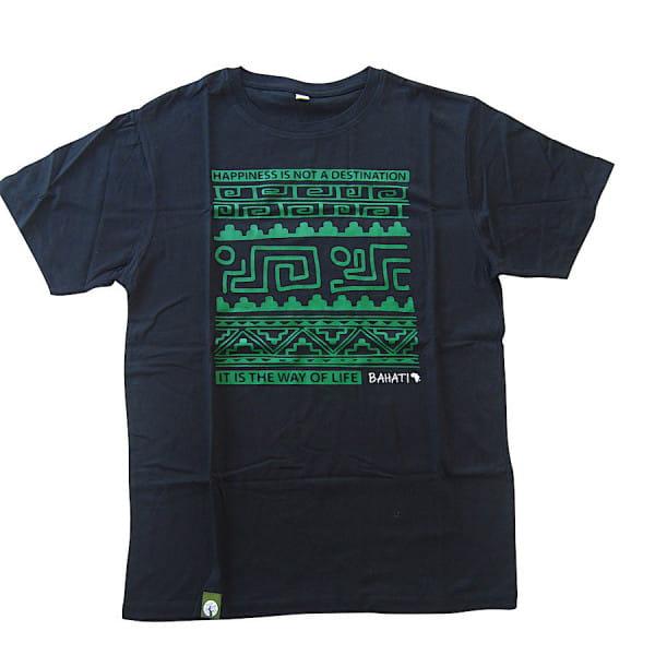Bahati - Men - Schwarz - Organic Shirt