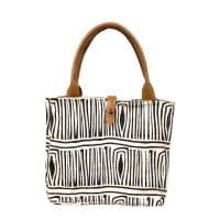 African Tote Bags Afar Textiles Fair Trade Tragetasche Einkaufstasche Leder