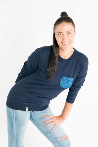 Shwe Shwe Pocket - Unisex - Blau - Organic Sweater