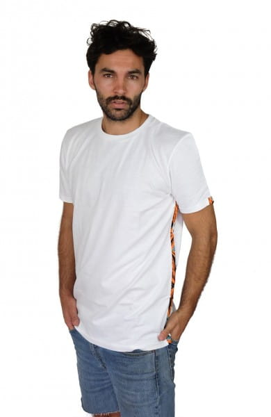 Nyeupe Stripes - Unisex - Weiß - Organic Shirt