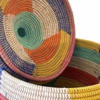 Wäschekorb Afrika bunt