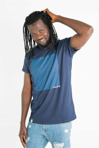 Uhuru - Men - Blau - Organic Shirt