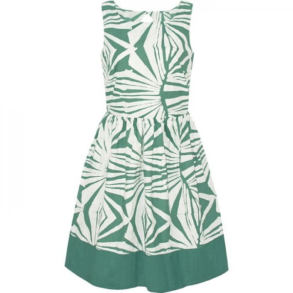 Party Dress - Rays Sage - Grün