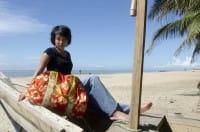 Weekender Bag - Tropics - Rot